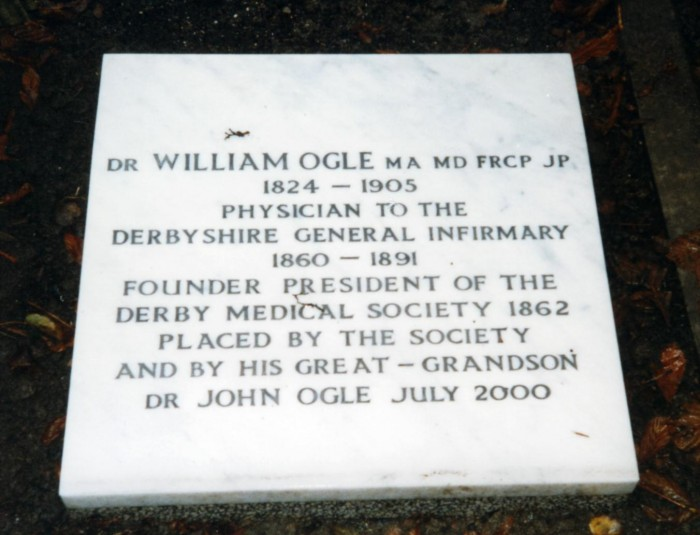 Grave of Dr. William Ogle